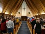 Gathering for Christmas Eve worship