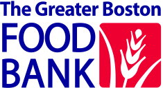 Stylized wheat logo for Greater Boston Food Bank
