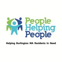 Burlington People Helping People Logo - helping Burlington MA residents in need.