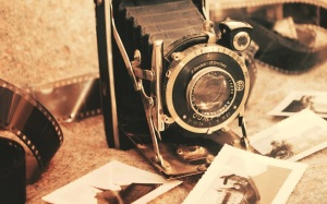 Old fasioned camera
