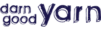 Darn Good Yarn Logo: click image to visit site.