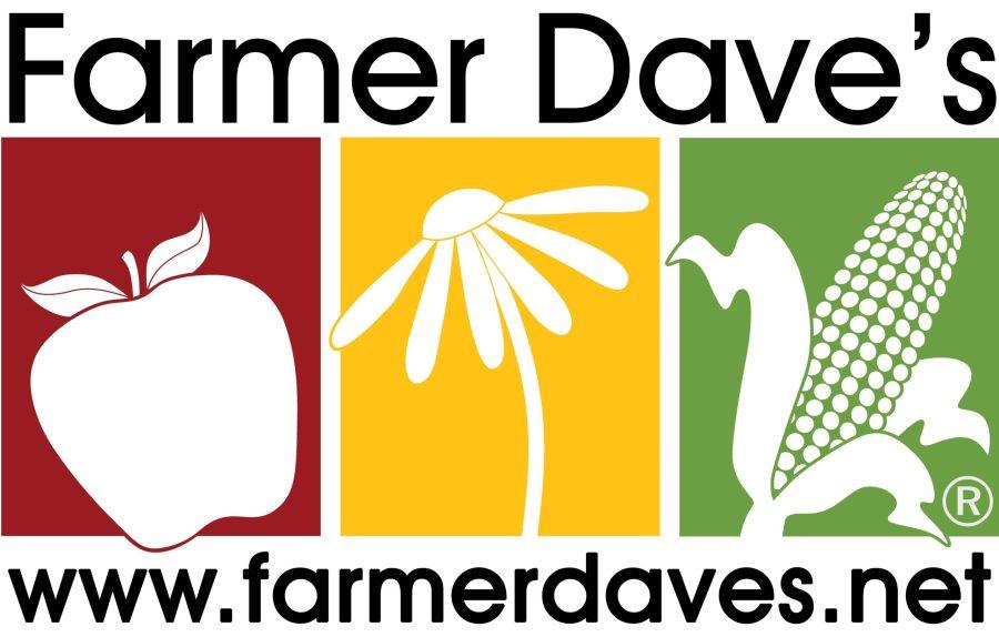 Farmer Dave's logo - image of fresh produce
